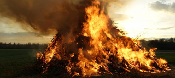 Osterfeuer 2017 – Infos zur Holzabfuhr und dem Abend selber