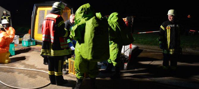 Chlorgaseinsatz der Feuerwehren am Freibad am Elm in Hemkenrode