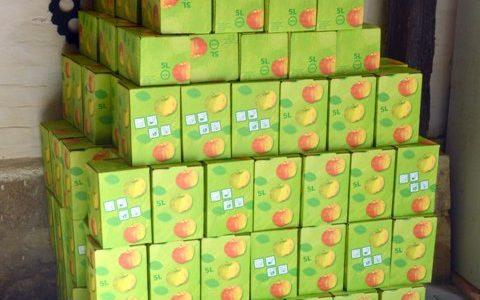 2. Apfelsaftaktion von der FFW Hemkenrode und der bunten Gemüsekiste e.V.